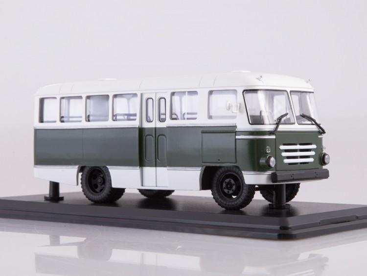 1:43 Автобус КАГ-3 (бело-зелёный)
