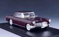 1:43 LINCOLN Continental Mark II Coupe 1956 Maroon