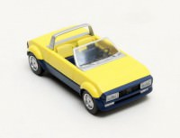 1:43 PEUGEOT 104 Peugette Pininfarina 1976 Yellow/Blue