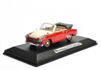 1:43 WARTBURG 311-2 Cabriolet 1958 Red/White