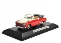 1:43 WARTBURG 311-2 Cabriolet 1958 Red/White