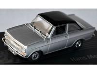 1:43 OPEL Kadett A Coupe Hans Mersheimer 1964 Silver/Black