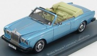 1:43 ROLLS ROYCE Corniche Convertible 1977 Blue Metallic