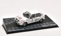 1:43 CITROEN Visa 1000 Pistes #7 Andruet/Peuvergne Rally Monte-Carlo 1985