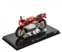 1:24 мотоцикл MV AGUSTA 750 F4 Red