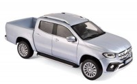 1:18 MERCEDES-BENZ X-Klasse Pick-Up (BR470) 2017 Silver