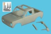 1:43 Lada «Niva» 4x4 Poch Plein Soleil ТрансКит для моделей IST
