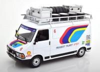 "1:18 CITROEN C35 техничка ""Peugeot Talbot Sport"" 1985"
