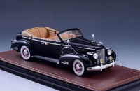 1:43 CADILLAC V16 Series 90 Fleetwood Sedan Convertible (открытый) 1938 Black