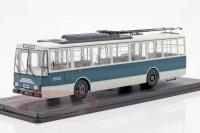 1:43 троллейбус SKODA 14TR Eberswalde 1981 Blue/White