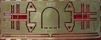 1:43 Фототравление Решетка фар для ЗиЛ-157