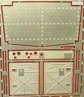 1:43 Фототравление Интерьер кабины КрАЗ (старая кабина) для SSM/АИСТ/AVD