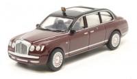 1:76 BENTLEY State Limousine Королевы Великобритании Елизаветы II 2002 Brown