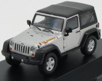 1:43 JEEP Wrangler 4х4 Islander 2010 Bright Silver Metallic