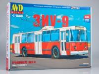 1:43 Сборная модель Троллейбус ЗИУ-9