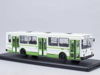 1:43 Ликинский автобус 5256 городской, зеленый / белый