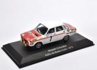 1:43 RENAULT 12 Gordini #7 Rally Monte Carlo 1973