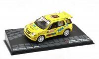 1:43 SUZUKI Ignis S1600 #37 Scorcioni/Stefanelli Rally Monte-Carlo 2005