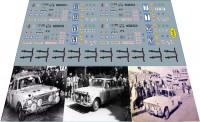 1:43 набор декалей Ралли Лондон-Сидней 1968