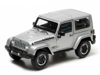 1:43 JEEP Wrangler 4х4 Polar Limited Edition (Hard Top) 2014 Billet Silver Metallic