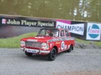 1:43 MOSKVICH 412  SATRA MOTORS (GB)  Dvr: TONY LANFRANCHI  CHAMPIONSHIP LEADER & CLASS WINNER - 1972
