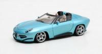 1:43 ALFA ROMEO Touring Disco Volante Spyder 2016 Metallic Blue
