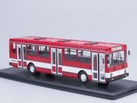 1:43 Ликинский автобус 5256 городской, красный / белый