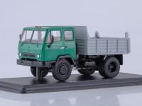 1:43 КАЗ-ММЗ-4502 самосвал (зелёный/серый)