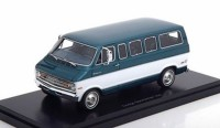 1:43 DODGE Sportsman Van (микроавтобус) 1973 Metallic Green/White