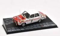 1:43 RENAULT 12 Gordini #7 Ragnotti/Jaubert Rally Monte-Carlo 1973