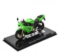 1:24 мотоцикл KAWASAKI Ninja ZX-10R Green