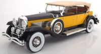1:12 DUESENBERG Model SJ Tourster Derham 1932 Yellow/Black