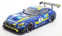 """1:18 MERCEDES AMG GT3 #9 """"Black Falcon Team"""" 24h Nürburgring 2016"""