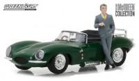 1:43 JAGUAR XKSS с фигуркой Steve McQueen 1957