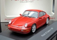 1:43 PORSCHE 911 Carrera 4 (964) 1991 Red
