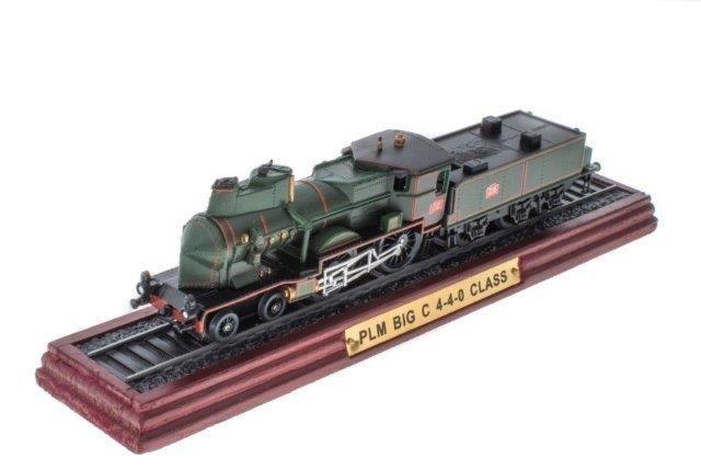 1:87 Французский пассажирский паровоз PLM BIG C 4-4-0 CLASS 1925