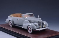 1:43 CADILLAC V16 Series 90 Fleetwood Sedan Convertible (открытый) 1938 Grey