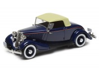 1:43 Ford Model 40 roadster top up 1933 (blue)