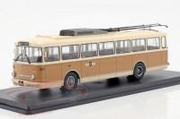 1:43 троллейбус SKODA 9TR Gera 1961 Beige