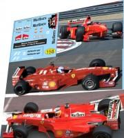 1:43 набор декалей Formula 1 №31 - Ferrari F399 - 120 200