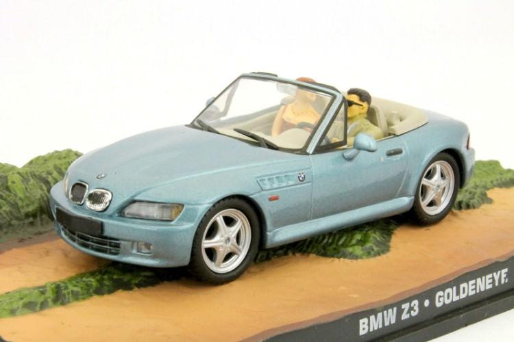 "1:43 BMW Z3 ""GoldenEye"" 1995 Light Blue"