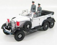 1:18 Mercedes-Benz G4 1938 White
