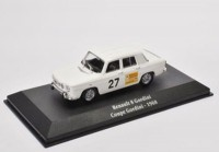 1:43 RENAULT 8 Gordini Coupe Gordini #27 1968