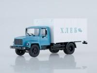 1:43 Фургон для перевозки хлеба,синий/белый (3307)