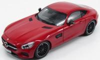 1:18 MERCEDES-AMG GT (С190) 2015 Red Metallic