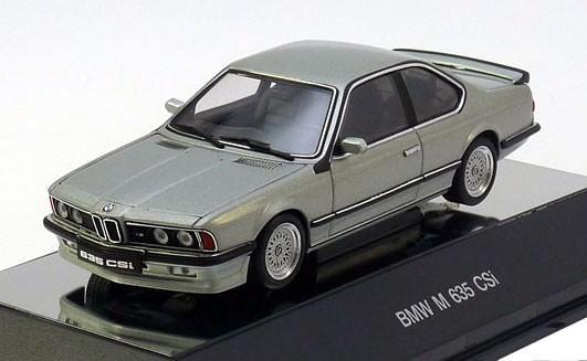 1:43 BMW M635 CSi [с открывающимся капотом] (lachssilver metallic)