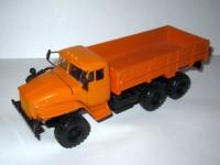 1:43 Уральский грузовик 43202 бортовой