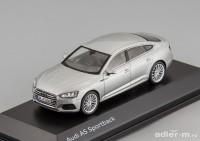 1:43 AUDI A5 Sportback 2017 Floret Silver
