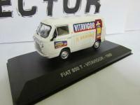 """1:43 FIAT 850 T """"VITAVIGOR"""" 1965 White"""