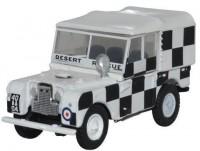 "1:76 LAND ROVER Series I 80 Canvas ""RAF Tripoli Desert Rescue Team"" 1960"